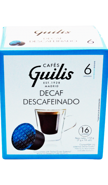 Decaf Coffee - system Dolce Gusto