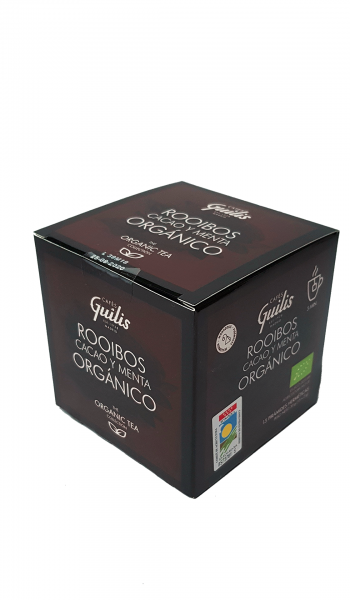 Roiboos z kakao i miętą organic